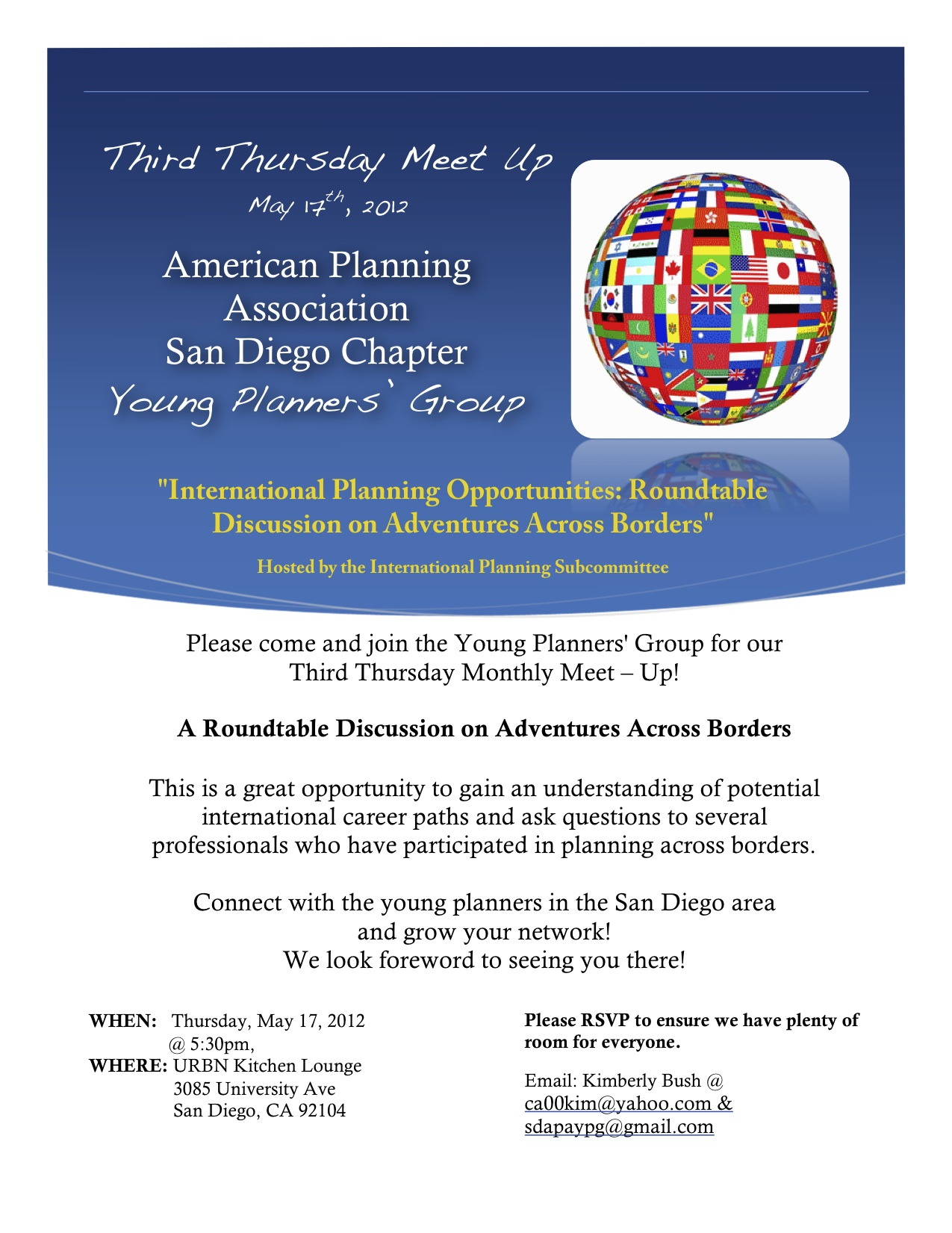 Round table discussion flyer - May2012flyer