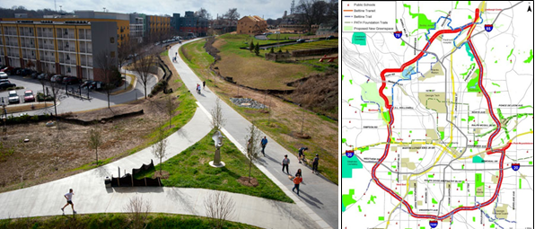 The Atlanta Beltway is the most ambitious urban trail system in the U.S.