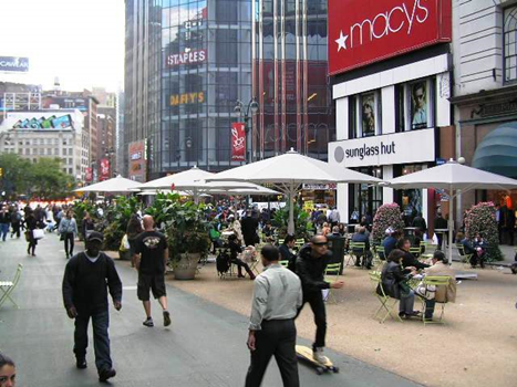 New York's successful Tactical Urbanism approach transformed Times Square.