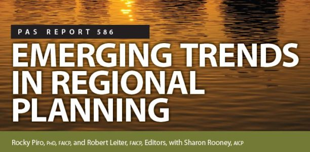 "New ""PAS"" Report on Emerging Trends in Regional Planning"
