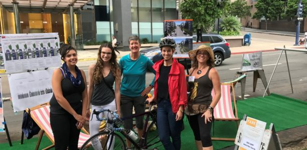 """PARK(ING) Day 2017: SDAPA's """"Young Planners Group"""" Co-Hosted a Successful """"Parklet"""""""