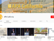 APA California Launches Youtube Channel