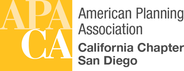 San Diego American Planning Association Retina Logo