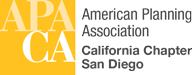 San Diego American Planning Association Mobile Retina Logo