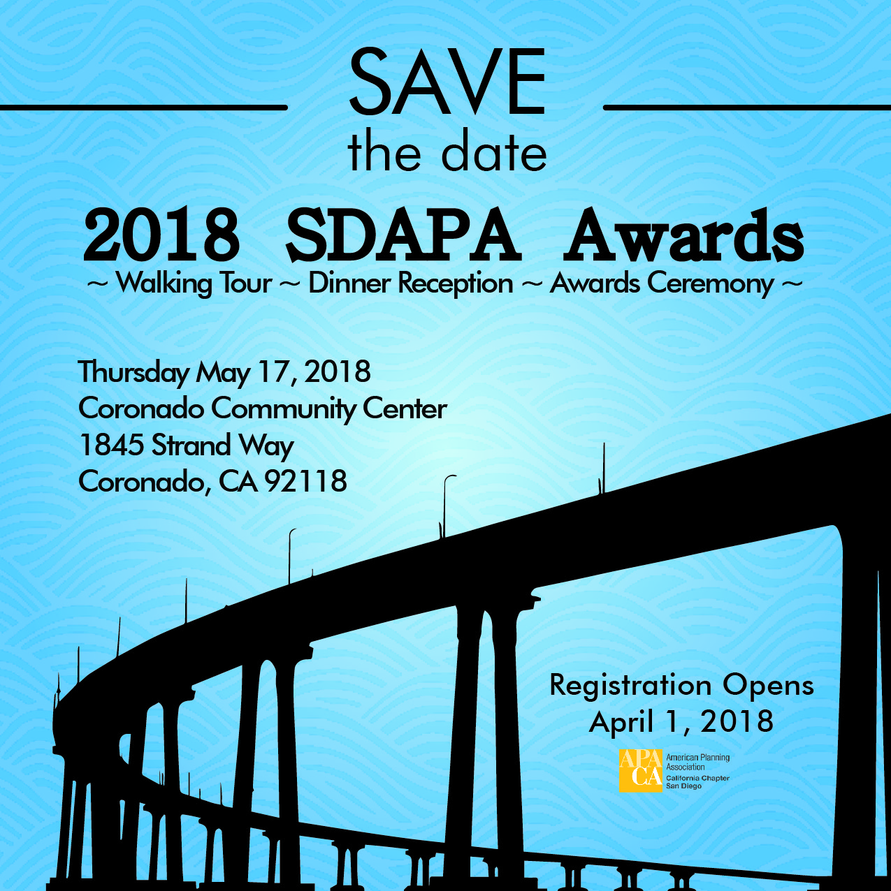 SDAPA Awards - Save the Dave