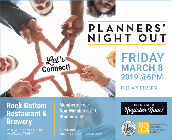 8 – Planners' Night Out – Rock Bottom Restaurant and Brewery, La Jolla