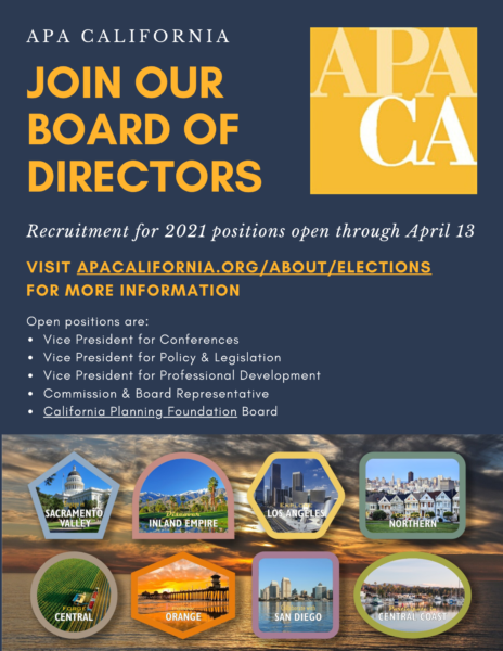 California APA Section Director Nominations